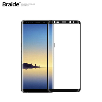"5D 9H Screen Protector For Samsung Note 8 6.3"" Tempered Glass, Curved Full Screen protecter"