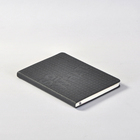 Custom 5x8 notepads, black FSC a5 custom note book