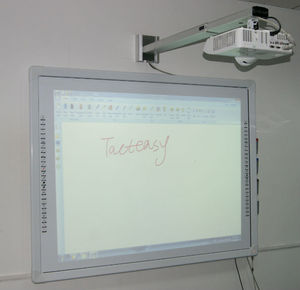 Electronic whiteboard infrared smart technology