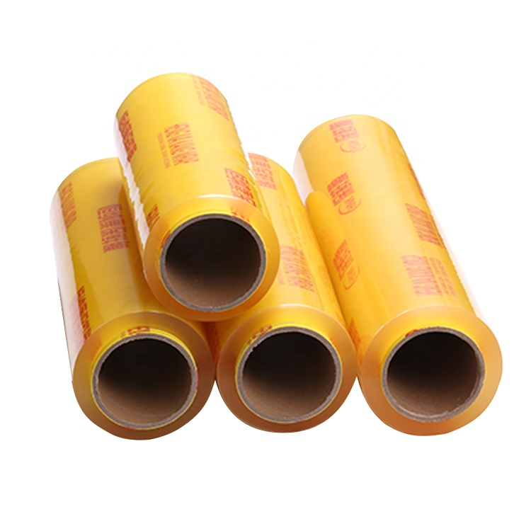 PVC Cling wrap Flim voor Food grade Stretch plastic film roll