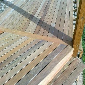 Brazilian Walnut Ipe Solid Hardwood