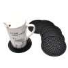 Good quality restaurant coaster soft bar drink mat beer coaster holder