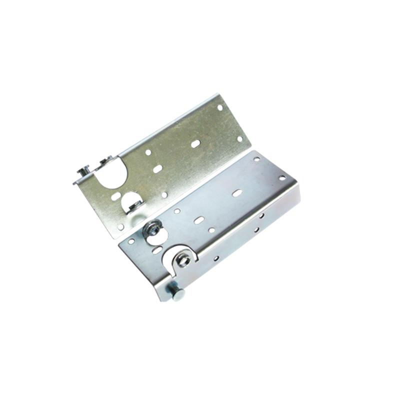 Commercial garage door hardware industrial door bottom bracket top bracket steel roller bracket