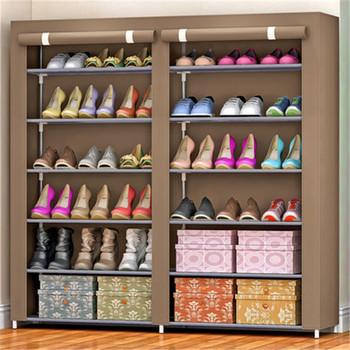 Diy Shoe Rack Waterproof Shoe Cabinet Folding Fabric Shoe Storage Buy Shoe Rack Stylish Shoe Cabinet Outdoor Furniture Product On Alibaba Com