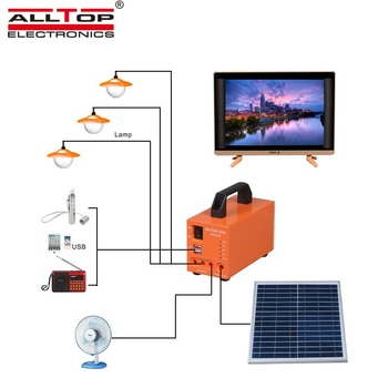 New product solar energy powered 20w 30w 50w solar system