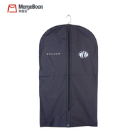 Factory waterproof folding peva garment bag suit cover for suit and dress