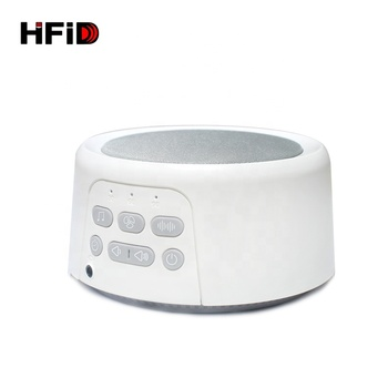 Professional manufacture white noise 80dB sound machine for sleeping
