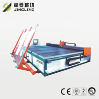 Multi function glass cutting machine(with semi loading arm)