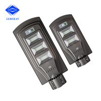 High lumens ip65 60w solar powered outdoor street lights