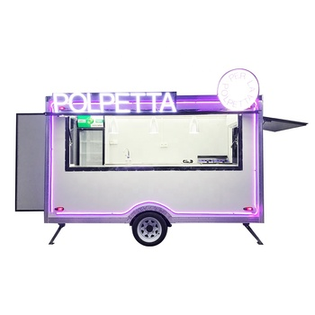Factory outlet mobile Food cart Ice cream trucks for sale