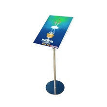 A4 Floor Standing Suporte <span class=keywords><strong>Do</strong></span> <span class=keywords><strong>Sinal</strong></span> <span class=keywords><strong>Do</strong></span> Metal Poster Stand Ajustável <span class=keywords><strong>Placa</strong></span> de Exposição <span class=keywords><strong>Do</strong></span> <span class=keywords><strong>Menu</strong></span> para venda