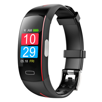 P3 Plus Smart Bracelet PPG ECG Heart Rate Blood Pressure Monitor Color Screen Smart Wristband