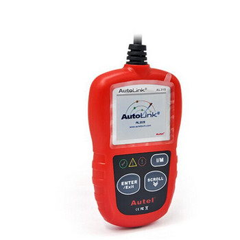 DIY Newest Autel AL319 OBD2 CAN Check Engine Light Diagnostic Tool Scanner Car Key Programmer