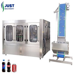 8000BPH complete carbonated soft drink filling machine
