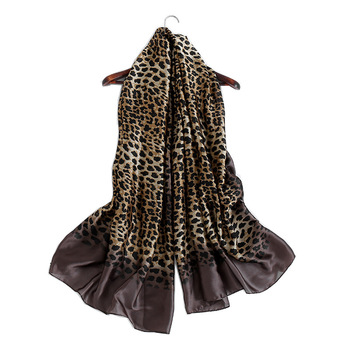 Hot Selling 90*180cm Overall Pattern 3 Colors Python Leopard Animal Print Scarf