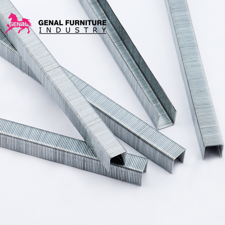 2019 hot sale export quality sofa staple 71 series metal pneumatic <strong>nails</strong>