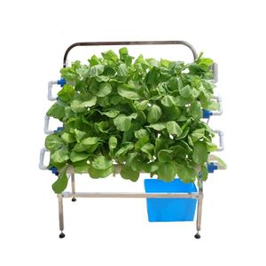 pvc vertical hydroponic grow systems vertical nft channel Indoor Plant Growing Systems T Type Hydroponic system