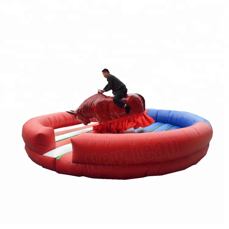 Interactive Sport Games Inflatable Mechanical Bull,Mechanical Inflatable Bull Riding Machine For Sale