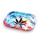 Logo Customization Tray Tin Metal Tobacco Weed Tin Tray Raw Custom Rolling Tray Factory Itinbox