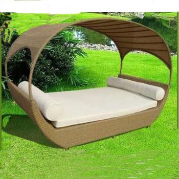 Neue Design Lounge Möbel Garten Outdoor Sonnenliege Mit Baldachin - Buy  Liege Mit Baldachin,Outdoor Sonnenliege,Garten Lounge Möbel Product on ...