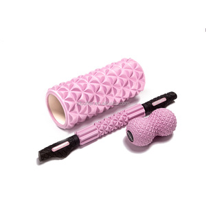 Amyup marble led foldable germany foam roller 2 in 1