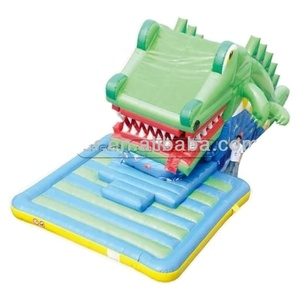 Cheer Amusement crocodile Inflatable Fun City Amusement Equipment