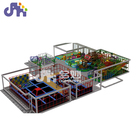2019 trending design fiberglass decoration soft play indoor playground equipment for kids