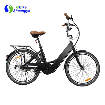 "24 "" 26 "" 36 v bateria escondida electric city e bicicleta"