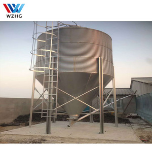 Manufacture Supplied Stainless Steel Silo for Poultry Farm