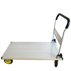 Steel Heavy Loading Platform Hand Trolley Cart