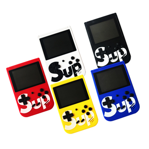 portable video game retro sup game box 400 in 1  with 3'' color screen
