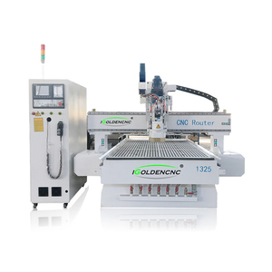 Automatic Tool Changer CNC Router Milling Machine Japanese Woodworking Machinery Supplier