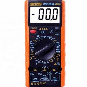 FUXIN-G low price 1999 counts digital multimeter DT9205A DT-9205A digital multimeter