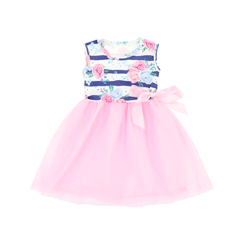 New style baby boutique clothes new born baby dress for girls