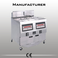 OFG-322 CE 2 pots 4 baskets 2x25l commercial french fry fryer with basket fryer