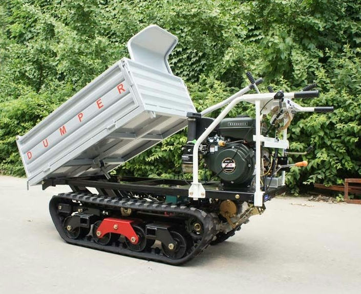 Hydraulic small crawler truck mini dumper for sale
