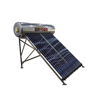2019 New Designed 50Liter Portable Mini Solar Water Heaters