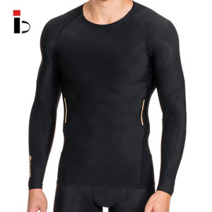 Tight long sleeve gym quick dry fitness compression wear