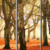 Autumn forest micro-spray canvas canvas for home and office decoration 3D Tree wall art decor modern