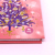 Christmas Tree Decoration Notebook With Optic Fiber Lights