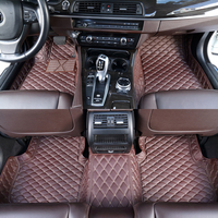 Chinese factory wholesale price 5D vehicle accessories mats leather car floor