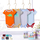 Short Sleeve 10-pieces Baby Gift Set Infant Clothing New Born Gifts Box Set Baby clothing baby's Rompers+towels Little