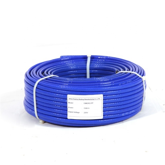 Pipe Heat Trace Tank Freeze Protection Self-regulating Heating Cable