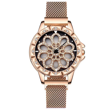 Wristwatch for ladies factory selling  2043 womens diamond  rotary watch