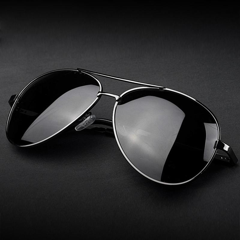 6f9c46639 Aviação Óculos De Sol polarizados Do Vintage Homens Marca Designer Óculos  de Sol Óculos Mulheres Primavera