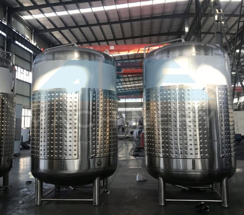 30Bbl/40Bbl/60Bbl/90Bbl/100Bbl/120Bbl/150Bbl/200Bbl Barrel Jacket Fermenter/Fermentation Tank/S For Craft Beer
