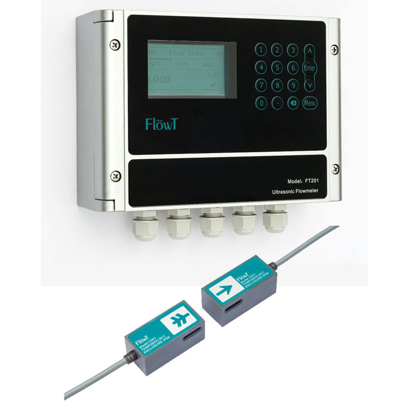 IP68 China Buckle Measure liquid tap water sitelab ultrasonic flowmeter