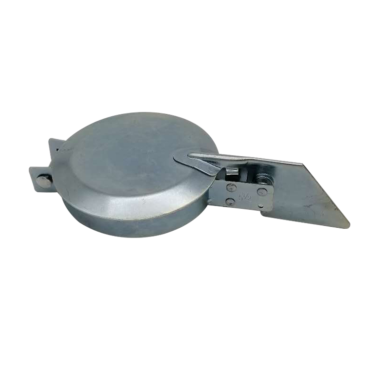 ANTHES Exhaust Rain Cap,1 x 1-3//16 In. Gray 11001