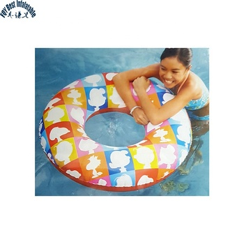 Fashion Cheap Swim Ring Snoopy And Peanuts Cute Swim Ring Inflatable Swim Ring For Kids