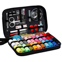 Professional Manufacturer Top Quality Household PU Leather Customized Travel Sewing Kit